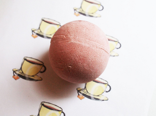 Tea Scented Vegan Bath Bomb