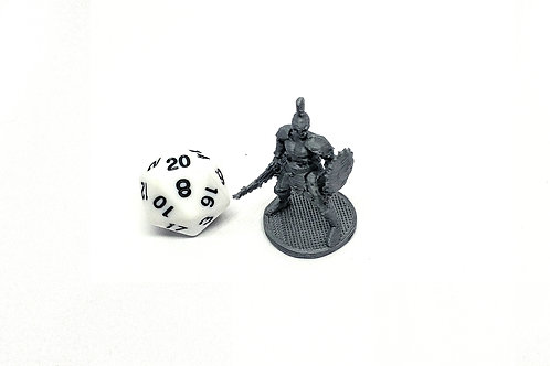 Champion - 3D Printed Unpainted Miniature