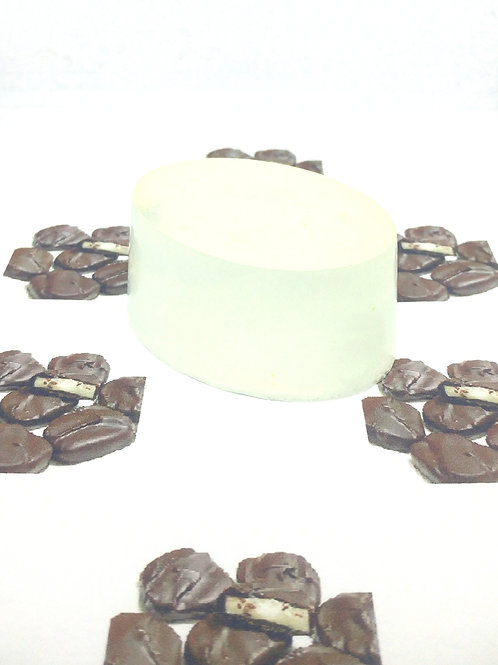 Chocolate Peppermint Patty Scented Soap Bar
