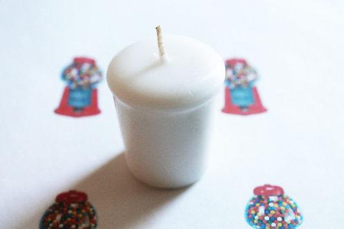 Bubble Gum Scented Votive Candle