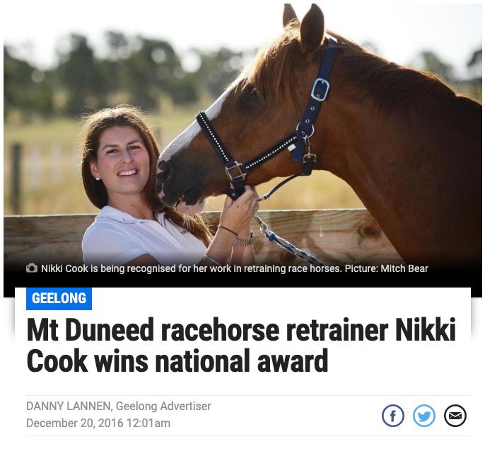 LINK: Geelong Advertiser Article
