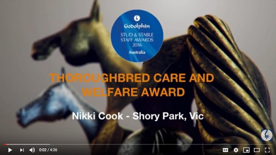 Godolphin Thoroughbred Care and Welfare Award