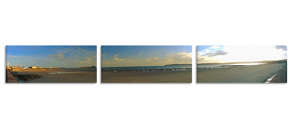 St. to St. Helier to Aubin (3 Part Panoramic)