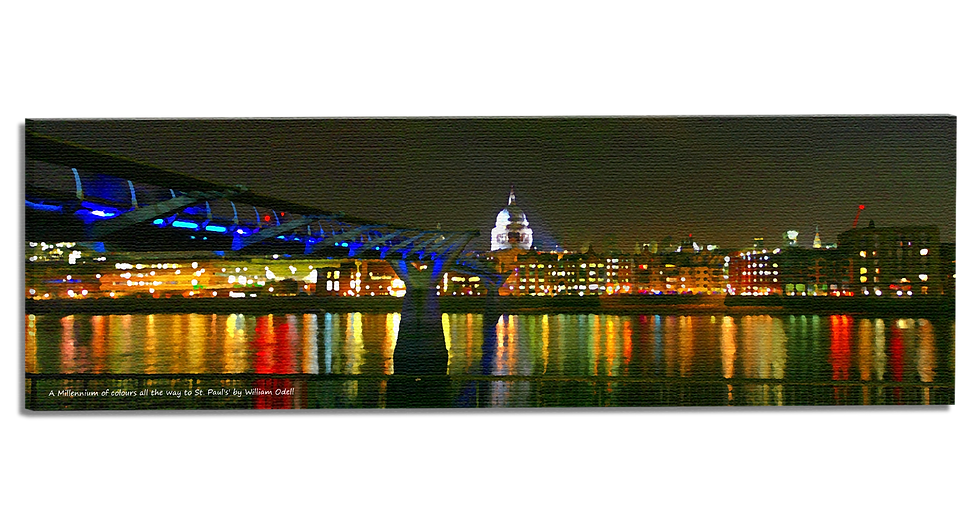 A Millennium of colours all the way to St. Paul's