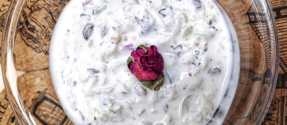 Masto Kiar (Dessert Iraniano)
