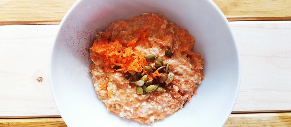 Porridge alla carota