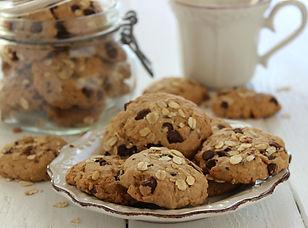 Biscotti avena e cioccolato e mandorle.j