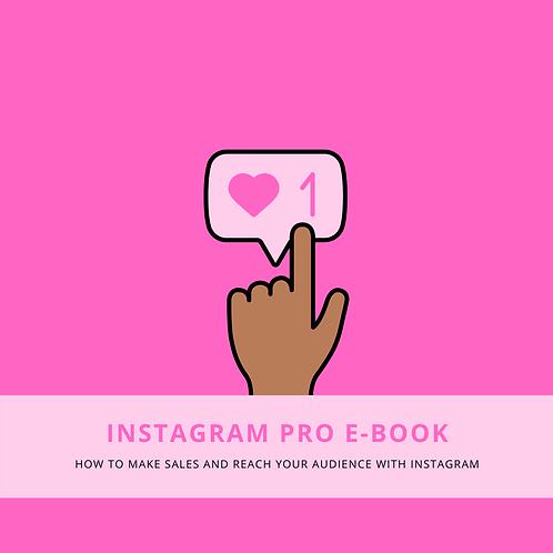 """""""Instagram Pro"""" E-Book"""