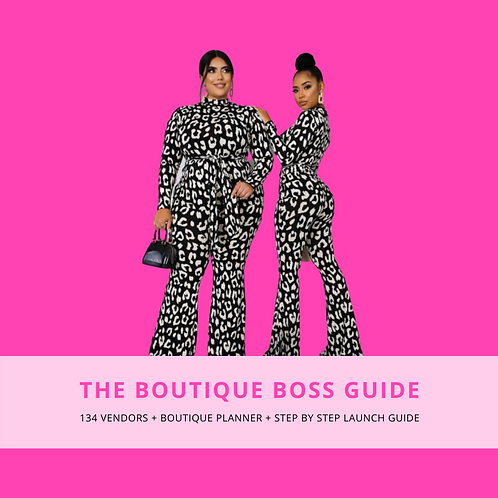 The Boutique Boss Guide