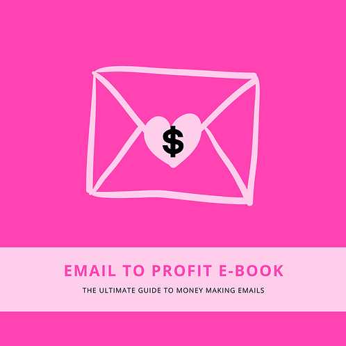 """""""Email To Profit"""" E-Book"""