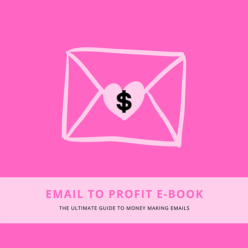 """Email To Profit"" E-Book"