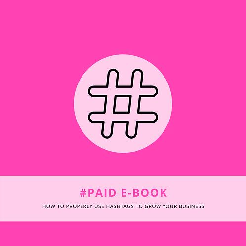 """""""#Hashtag Paid"""" E-Book"""