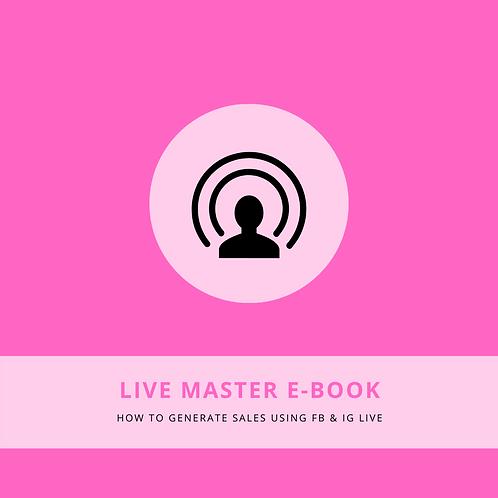 Live Master E-Guide