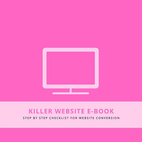 """Glow Girl"" Web Kit"
