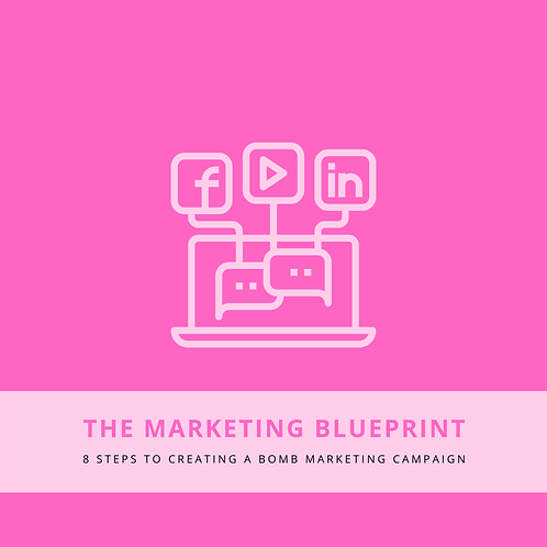 """Marketing Blueprint"" E-Book"