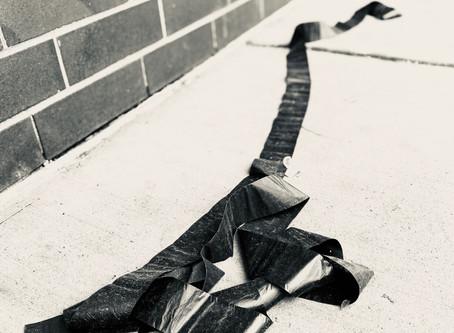 strap/ribbon/tape near Belmont & Armitage
