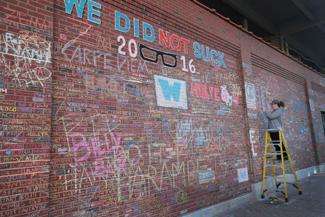 Chalk on the Walls: Cubs + Chang