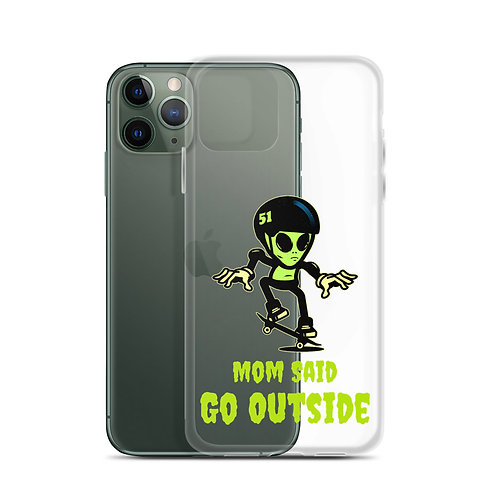 """Alien Skate"" iPhone Case"