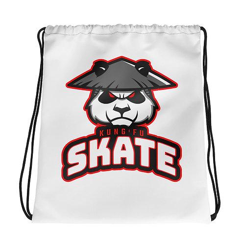 """""""Kung Fu Skate"""" Drawstring bag"""