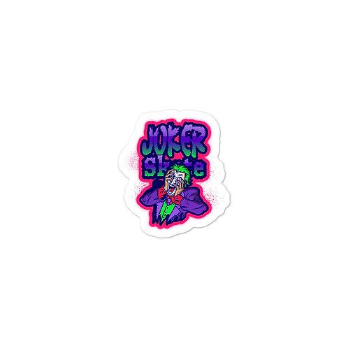 """""""Joker Skate 2"""" Bubble-free stickers"""