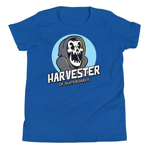 """Harvester of Skateboards"" Youth Short Sleeve T-Shirt"