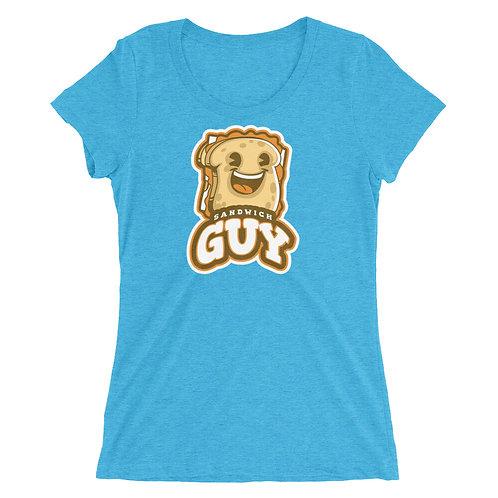 """Sandwich Guy"" Ladies' short sleeve t-shirt"