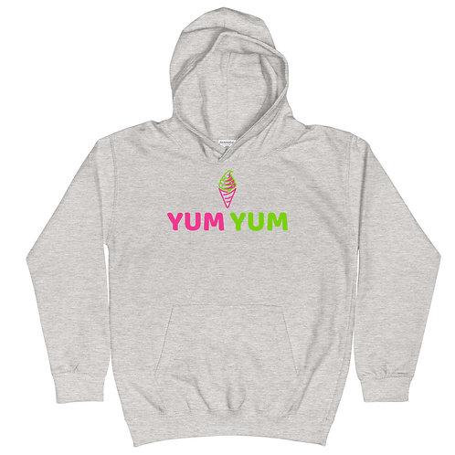 """""""Yum Yum Ice Cream"""" Kids Hoodie"""
