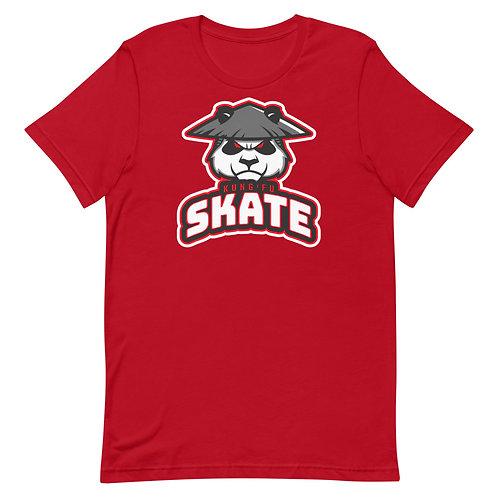 """Kung Fu Skate"" Short-Sleeve Unisex T-Shirt"
