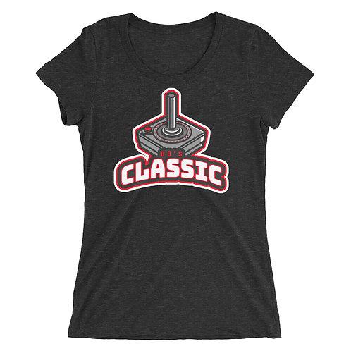 """80's Classic Controller"" Ladies' short sleeve t-shirt"