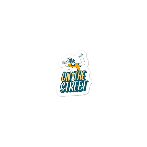 """""""On the Street"""" Bubble-free stickers"""