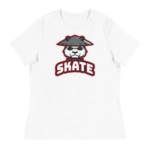 """Kung Fu Skate"" Women's Relaxed T-Shirt"
