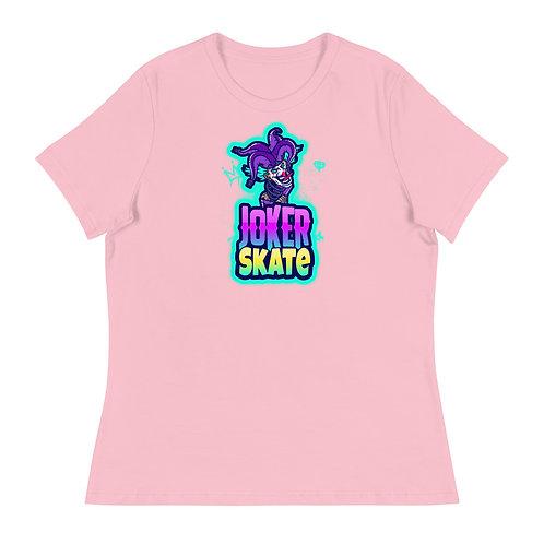 """""""Joker Skate 1"""" Women's Relaxed T-Shirt"""