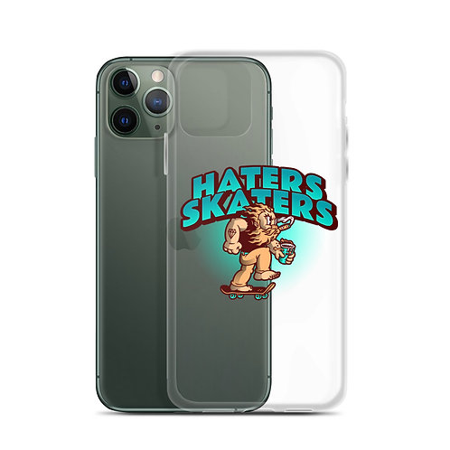 """""""Haters Skaters"""" iPhone Case"""
