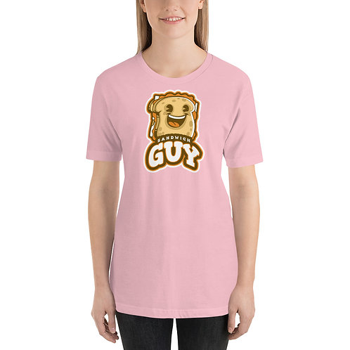 """Sandwich Guy"" Short-Sleeve Unisex T-Shirt"