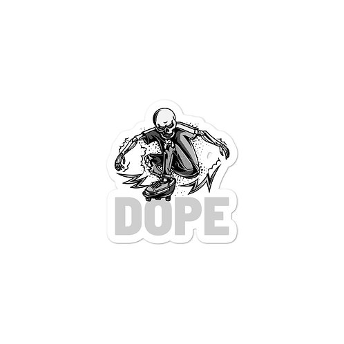 """Dope Skate"" Bubble-free stickers"
