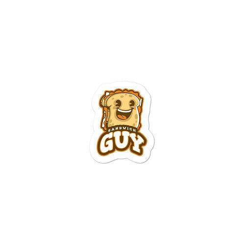 """""""Sandwich Guy"""" Bubble-free stickers"""