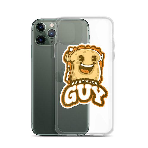 """Sandwich Guy"" iPhone Case"