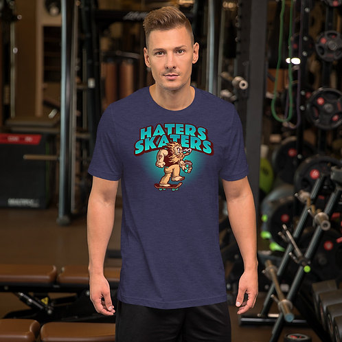 """Haters Skaters"" Short-Sleeve Unisex T-Shirt"
