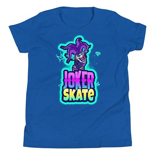 """""""Joker Skate 1"""" Youth Short Sleeve T-Shirt"""