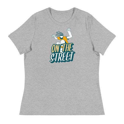 """""""On The Street Skate"""" Women's Relaxed T-Shirt"""