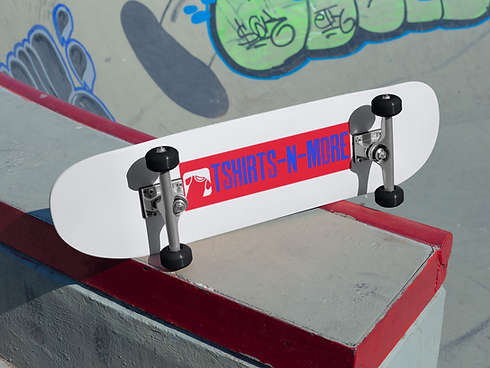mockup-of-a-skateboard-lying-on-the-floo