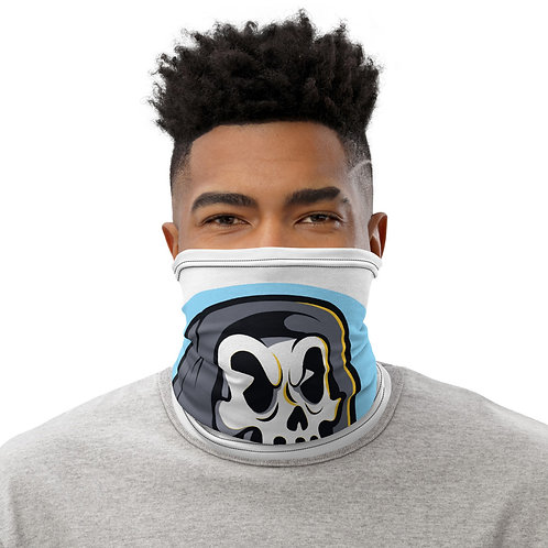 """Harvester of Skateboards"" Neck Gaiter"