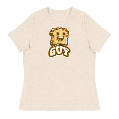 """Sandwich Guy"" Women's Relaxed T-Shirt"