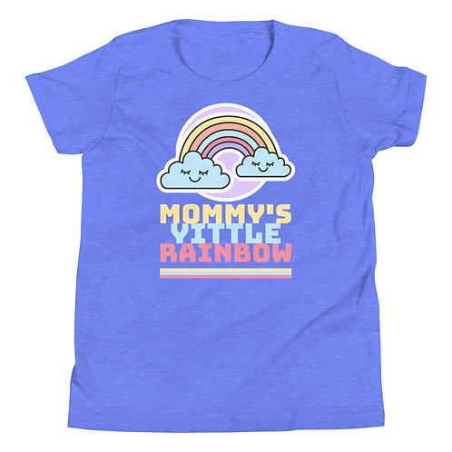 """Mommy's Yittle Rainbow"" Youth Short Sleeve T-Shirt"