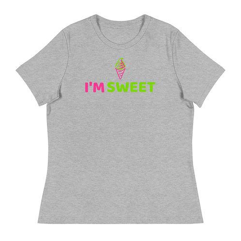 """I'm Sweet"" Women's Relaxed T-Shirt"