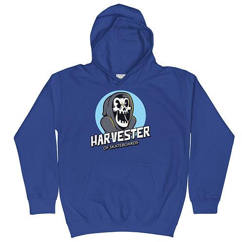 """""""Harvester of Skateboards"""" Kids Hoodie"""