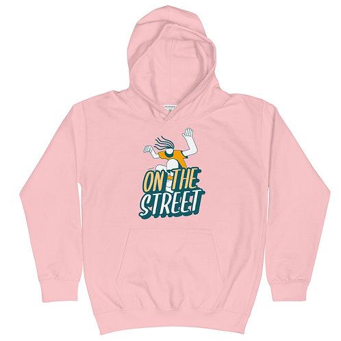 """""""On The Street"""" Kids Hoodie"""