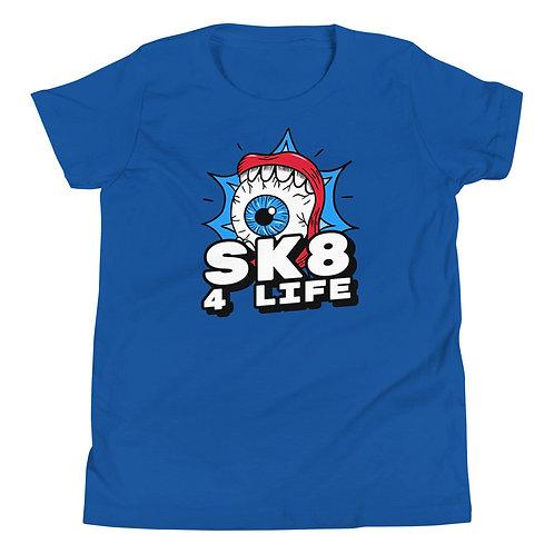 """Sk8 4 Life"" Youth Short Sleeve T-Shirt"