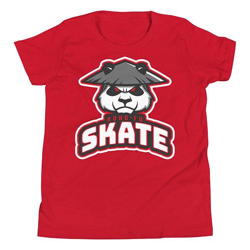 """Kung Fu Skate"" Youth Short Sleeve T-Shirt"