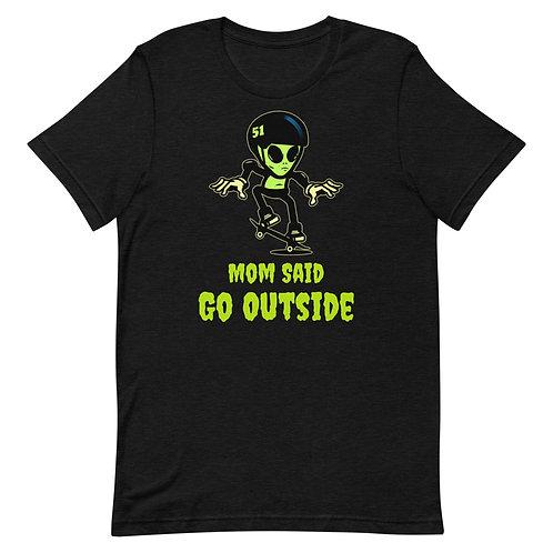 """""""Alien Skate"""" Short-Sleeve Unisex T-Shirt"""